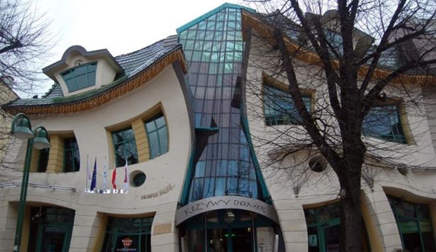 Casa Strâmbă - Sopot, Polonia