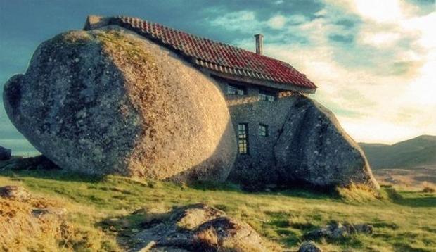 Casa de piatră - Guimaraes, Portugalia