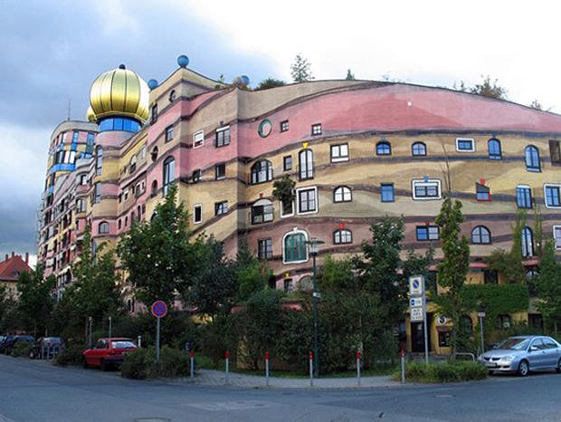 Clădirea în spirală împădurită - Darmstadt, Germania