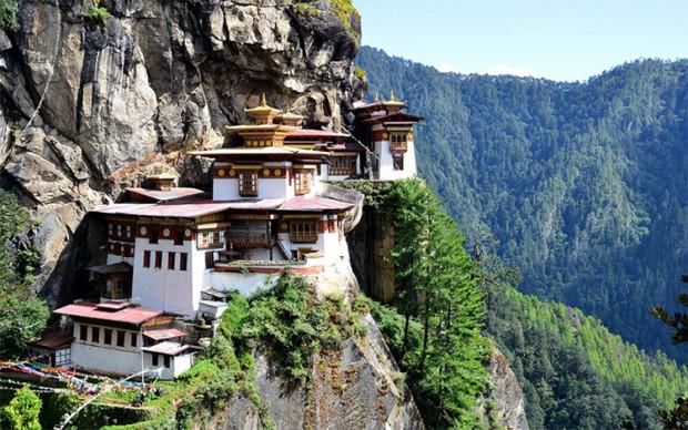 Bârlogul tigrului - Valea Paro - Butan