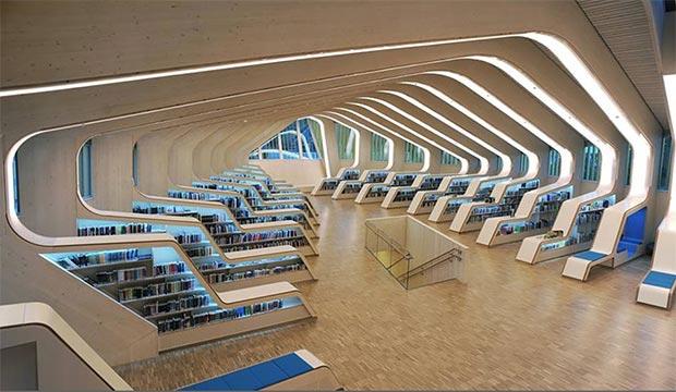 Biblioteca Vennesla, Norvegia